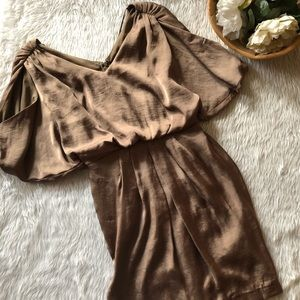 Vince Camuto Brown Dress